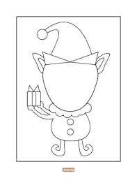 Horse Head Coloring Page Pages Elf