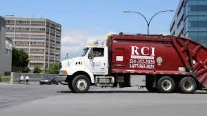 RCI STERLING GARBAGE TRUCK / MACK ROLLOFF - MONTREAL - YouTube
