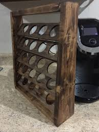 Pumpkin Spice Latte K Cups Walmart by Love This Vintage Spice Rack That Is Now A Keurig K Cup Holder By