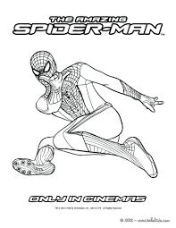 Spiderman Venom Coloring Pages Printable Print The Amazing Spider Man Kids Page Full Size