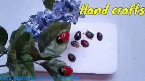 DIY Pistachio Shells Ladybug For KidsPistachio Hand Crafts By TanishaBest Out Of Waste84