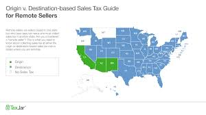 Ky Revenue Cabinet Collections by Origin Based And Destination Based Sales Tax Collection 101