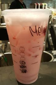 20160618 150836 The Pink Drink At Starbucks