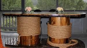 100 Repurposed Table And Chairs Wooden Cable Spool Creative Ideas YouTube