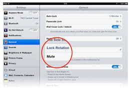 How To Enable Orientation Lock Your iOS Devices