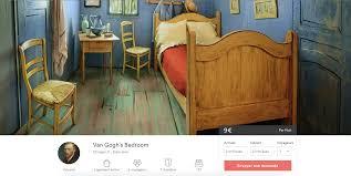 vincent gogh la chambre insolite une réplique du tableau de gogh à chicago made