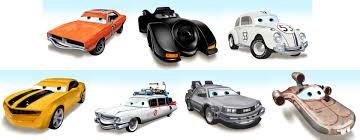 Pixarized Movie Vehicles By JAMNetwork