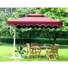 large garden umbrella exhort me