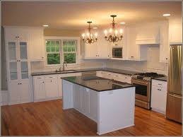 Vintage Metal Kitchen Cabinets With Glass Doors Modern