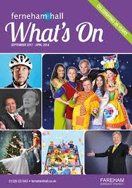 Laughter On The 23rd Floor Dvd by Ferneham Hall Whats On Brochure September 2017 April 2018 By