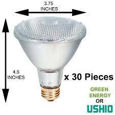 green energy lighting halogen par30 neck light bulbs