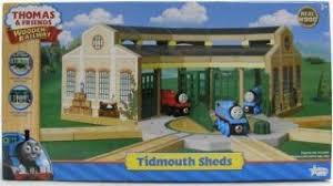Tidmouth Sheds Wooden Roundhouse by Thomas Wooden Railway Wooden Express Coaches 2 Pack Lc99088 Bnib 2