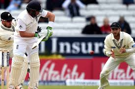 Ian Bell Is Caught Out By Kane Williamson R For 1 Run