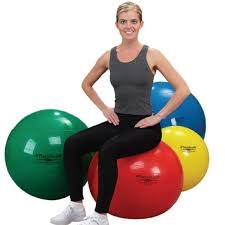 Gaiam Classic Balance Ball Chair Charcoal by Top 25 Best Exercise Balls Reviewed Healthy4lifeonline