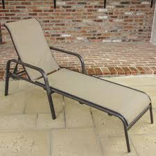 Stack Sling Patio Lounge Chair Tan by Madison Bay 3 Piece Sling Patio Chaise Lounge Set By Lakeview