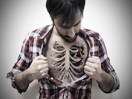 Cool Chest Tattoo Designs For Men Funny Free