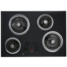 GE 30 in Coil Electric Cooktop in Stainless Steel with 4 Elements