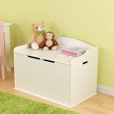 amazon com kidkraft austin toy box white toys u0026 games