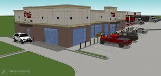 100 Truck Stop Inc Visualizations Simon Associates Architecture
