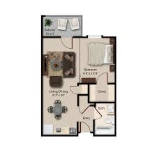 Efficiency Floor Plans Colors Independent Living Community Floor Plans Montgomery Al