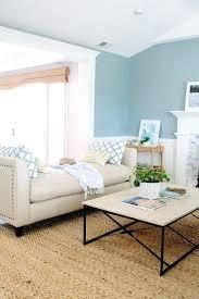 beige und blau wohnzimmer dekoration ideen blaues