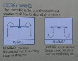direction to run ceiling fan in winter integralbook com