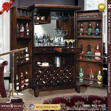 charming howard miller cabinet miller hide a bar wine spirits
