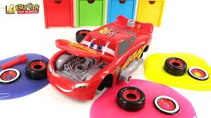 Learning Color Number Special Disney Pixar Cars Lightning McQueen ...