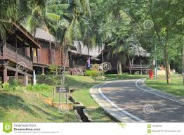 100 Houses In Malaysia Traditional Malay House Mini Malacca Stock Photo Image