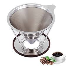 ACEHOOM Pour Over Coffee Dripper Clever Reusable Filter Single Cup