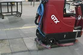 floor scrubber sweeper rentals cougar chemical