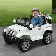 Aosom 12V Kids Electric Ride On Toy Truck Jeep Car With Remote ... White Ricco Licensed Ford Ranger 4x4 Kids Electric Ride On Car With Fire Truck In Yellow On 12v Train Engine Blue Plus Pedal Coal 12v Jeep Style Battery Powered W Girls Power Wheels 2 Toy 2019 Spider Racer Rideon Car Toys Electric Truck For Kids Vw Amarok Black Rideon Toys 4 U Ford Ranger Premium Upgraded 24v Wheel Drive Motors 6v 22995 New Children Boys Rock Crawler Auto Interesting Sporty W Remote Tonka Ride On Mighty Dump Youtube