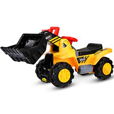 100 Digger Truck Videos Costway Costway Kids Toddler Ride On Excavator Scooter