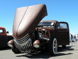 Car Reviews: The Tilt Nose Rat Rod Truck With The Cool Truck Bed Lid ...