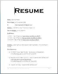 Basic Resume Samples Bad Examples For Students Sample Simple Format Job With