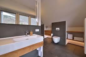 one stop bathroom modernization large anthracite tiles on