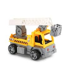 100 Bricks Truck Sales City Construction Building Blocks Engineering Trailer 118 RC