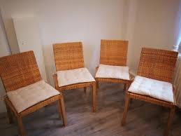 4 esszimmer stühle mit sitzkissen ikea in essen ikea