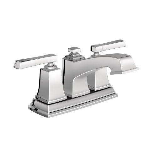 Moen Boardwalk Two Handle Lavatory Faucet - Polished Chrome, 4""