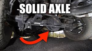 100 Truck Suspension Solid Axle How S Work YouTube