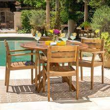 Inspiring Garden Furniture Deals Outdoor Piece Round Acacia ...