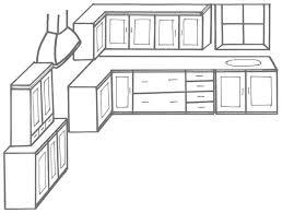 Easy Kitchen Drawing Design Ideas Kitchen