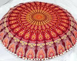 Giant Bohemian Floor Pillows by Floor Cushion Etsy