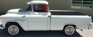 1955-58 CHEVY CAMEO | Craftec Covers 1957 Chevrolet Cameo Carrier 3124 Halfton Pickup Chevrolet Cameo Streetside Classics The Nations Trusted 1955 Pickup Truck Stock Photo 20937775 Alamy Rare And Original Carrier Pickup Sells For 1400 At Lambrecht Che 1956 3100 Volo Auto Museum 12 Ton Chevy Cameo Gmc Trucks Antique Automobile Club Of Sale 2013036 Hemmings Motor News On The Road Classic Rollections 1958 Start Run External Youtube Chevy Forgotten Truckin Magazine