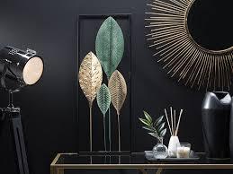 wanddekoration platinum grün gold schwarz ch