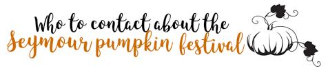 Seymour Pumpkin Festival Parking by Seymour Pumpkin Festival U2014 Paypal