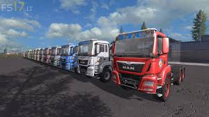 100 Simi Trucks ATC MAN Semi Pack V 31 FS17 Mods