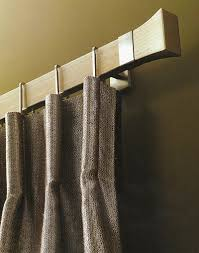 like the bold clean look of this Conica style curtain rod in