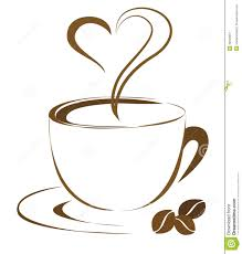 Coffee Cup Outline Clipart 1