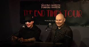 Smashing Pumpkins Ava Adore Live by Marilyn Manson Flails Smashing Pumpkins Soar At End Times Tour